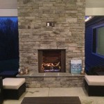 Woodbine Veranda Fireplace