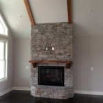 Carroll County Stone Fireplace