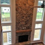 Howard County Stone Fireplace